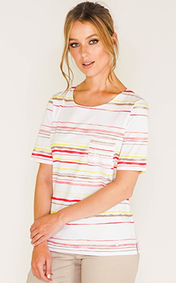 Pamela-Scott-BRAX-STRIPED-T-SHIRT