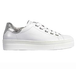 Murphys Shoes-Nero Giardini - White Leather