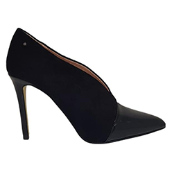 Kate-Appleby---Black-Suede-Patent-V-Shape-Shoe-Boot-