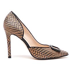 Lodi--Black-&-Camel-Court-Shoe