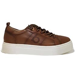 Murphys-Shoes-Bugatti---Tan-Leather-Superlight-Slip-On-Trainer