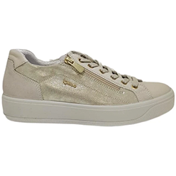 Murphys-Shoes-Igi-&-Co---Italian-Leather-Lined-Soft-Gold-Laced-Trainers-with-Zip