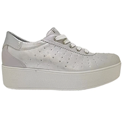 Murphys-Shoes-Igi-&-Co---Italian-Silver-Leather-Lined-Wedge-Trainers