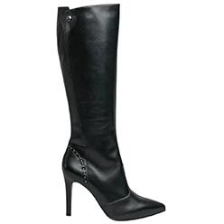 Murphys-Shoes---NeroGiardini---Black-Knee-High-Boots