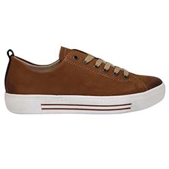 Murphys-Shoes-Remonte---Tan-Nubuck-Leather-Laced-Trainers