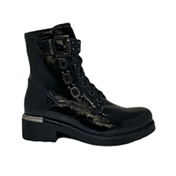 NeroGiardini---Black-Patent-Biker-Boots-with-Jewels