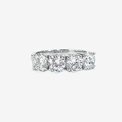 Desert-Diamonds---4-Stone-Brilliant-cut-in-prong-set