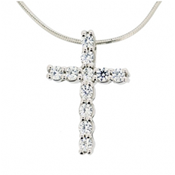 Desert-Diamonds-Traditional-Cross-Pendant-and-Chain
