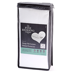 The-Fine-Bedding-Company-Deep-Fill-Cotton-Pillow-Protector