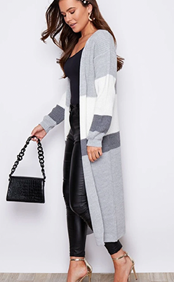 GREY-STRIPE-LONG-CARDI