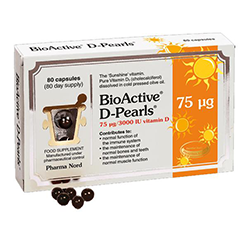 Pharma-Nord-BioActive-Vitamin-D-Pearls-75UG-80's