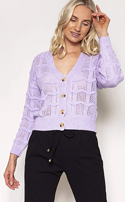 PALA-D'ORO-Button-Cardigan-in-Lilac