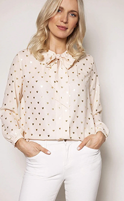 ROWEN-AVENUE-Heart-Foil-Blouse-in-Gold