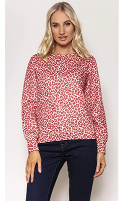 Carraig-Donn---KELLY-&-GRACE-WEEKEND-Leopard-Sweater-in-Multi-Print