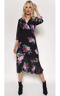Carraig-Donn---PALA-D'ORO-Ella-Dress-in-Black-Print