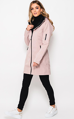 Ilse-Jacobsen-Rain-37-Hooded-Raincoat,-Adobe-Rose