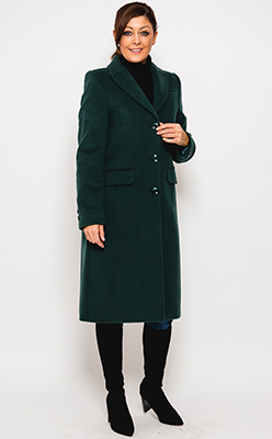 McElhinneys-Coats---Christina-Felix-Stitch-Trim-Wool-&-Cashmere-Coat,-Forest-Green