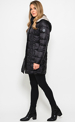 McElhinneys-Coats---Normann-Water-Repellent-Quilted-Coat,-Black