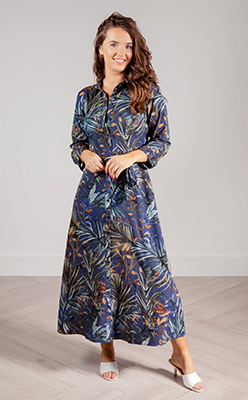 Born-Rosia-Floral-Shirt-Dress-In-Ombre-Blue