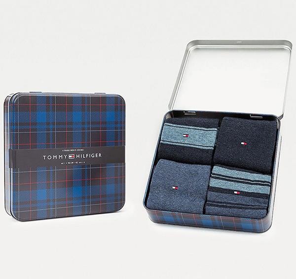 McElhinneys---Tommy-Hilfiger-4-Pack-Mens-Gift-Box-Socks,-Jeans---600x566